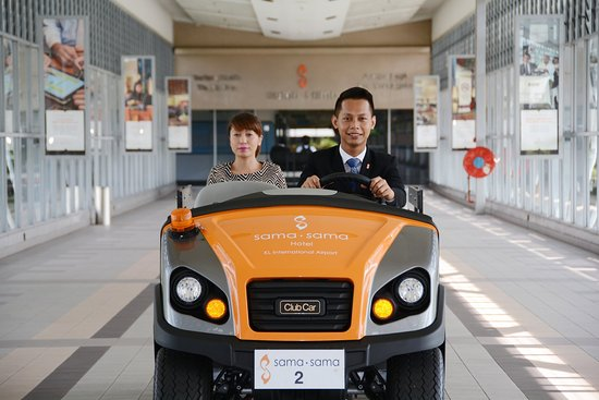 Sama-Sama Hotel KL International Airport: Buggy Service