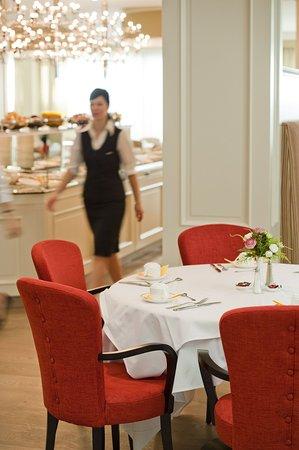 Grand Hotel Casselbergh Bruges: Breakfast restaurant