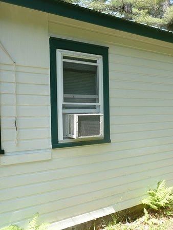 Northville, estado de Nueva York: Yes, our cabins are air-conditioning