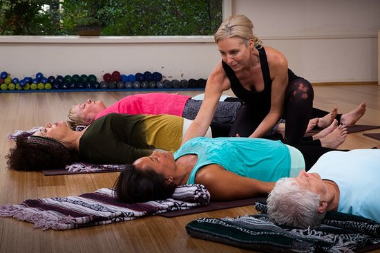 Ojai, CA: A wide variety of fitness classes suitable for all levels.