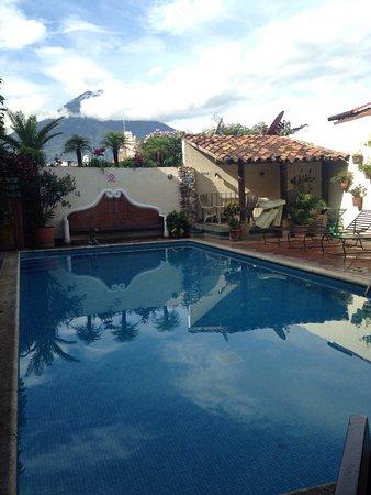 Hotel Casa del Parque: Desde la piscina