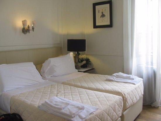 B&B La Dimora degli Angeli: very nice linens and comfortable beds