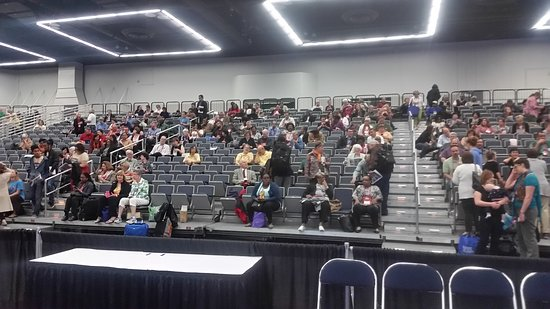 Oregon Convention Center: Plenty of space for visitors