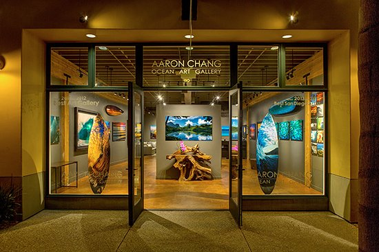 Aaron Chang Ocean Art Gallery Solana Beach
