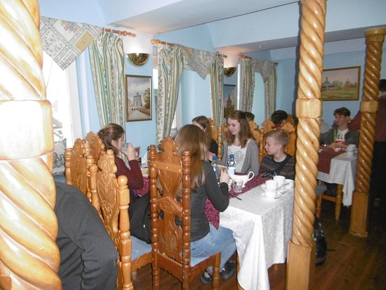 jedna z sal restauracji