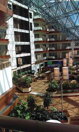 inside of hotel from the balcony picture of doubletree by hilton rh tripadvisor com