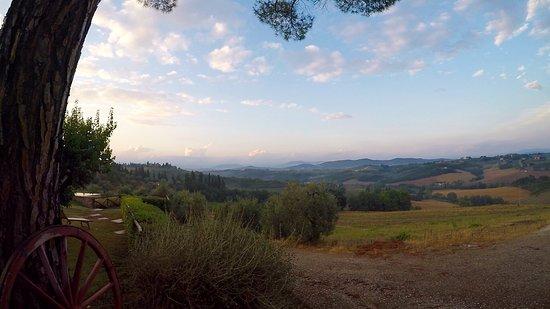 Montespertoli, Italia: view from Borgio Divino