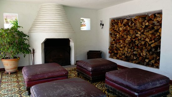 San Clemente, CA: Beehive fireplace