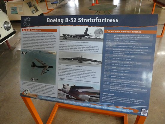 Australian Aviation Heritage Centre : Details of B52