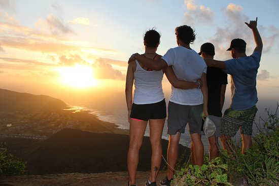 Ewa Beach, HI: Views from the top of Koko Head sunrise hike