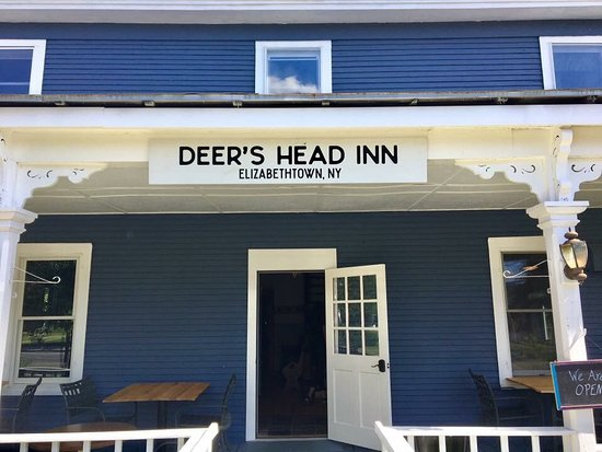 Elizabethtown, Νέα Υόρκη: The new and improved Deer's Head  Inn