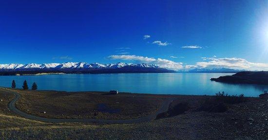 Lakestone Lodge The View Over Lake Pukaki