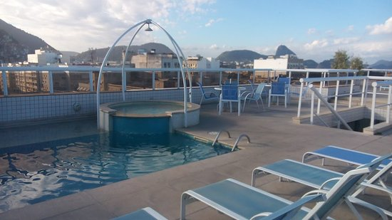 Atlantis Copacabana: piscina en la terraza