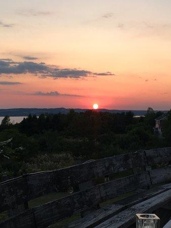 1820 House: Sunset over Skaneateles