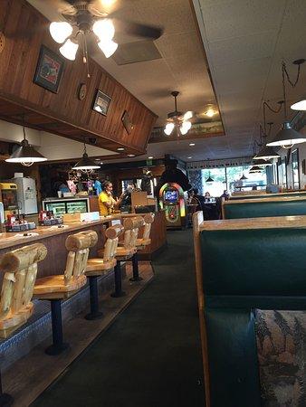 Porterville, Californië: Piatti e ristorante