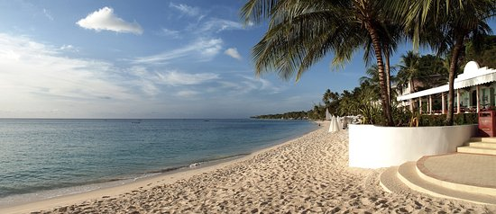 Porters, Barbados: The beach at the Fairmont Royal Pavilion