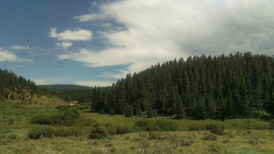 Enchanted Circle Drive: Between Taos and Angel Fire.