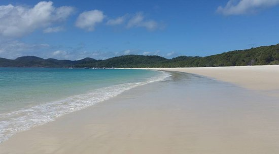 Qualia Resort: Whitehaven Beach - 20 minutes by boat