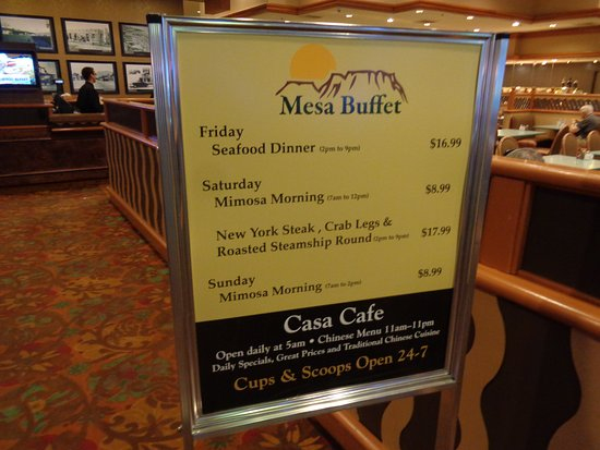 buffet prices and hours picture of casablanca casino mesquite rh tripadvisor co za