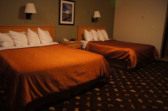Best Western King Salmon Motel: This is a double queen room