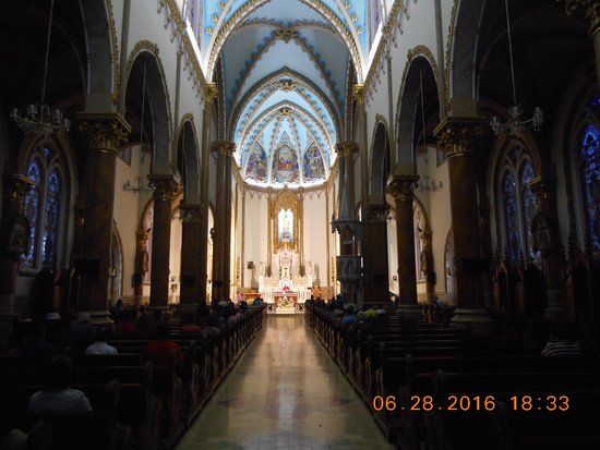 Don Matias, Colombia: Inside the Parroquia Nuestra Senora del Rosario