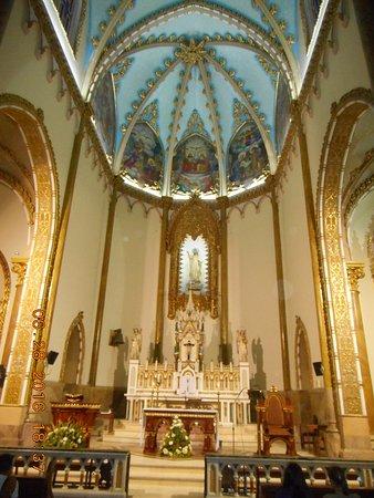 Antioquia Department, Colombia: Inside the Parroquia Nuestra Senora del Rosario