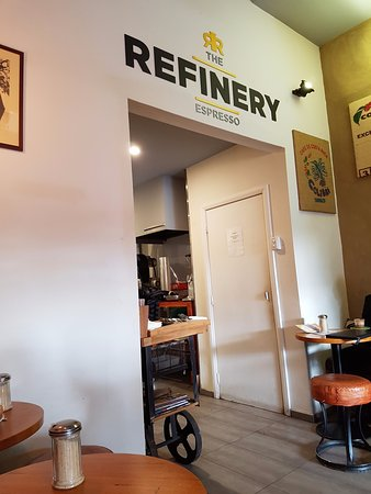 The refinery espresso