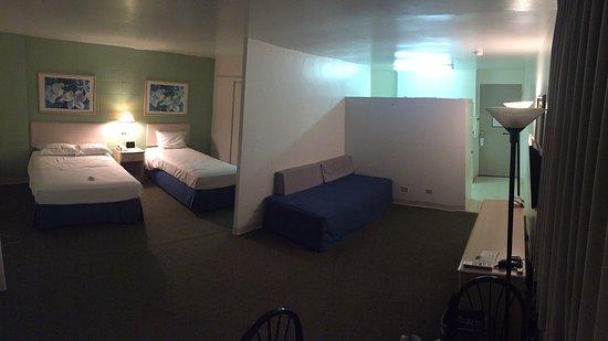 Ambassador Hotel Waikiki: とても広くて快適でした。
