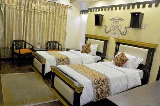 Hotel Encounter Nepal: Deluxe Twin Room