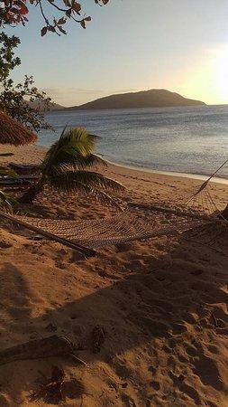Blue Lagoon Beach Resort: Hammocks on the Beach - Sunset
