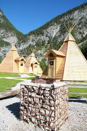 Tipi Dorf Grobming