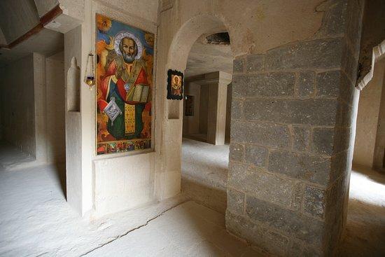 Mustafapasa, Turki: Aya Nikola Manastırı iç kısmı