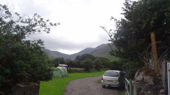 Beaufort, Ierland: Terrain de camping