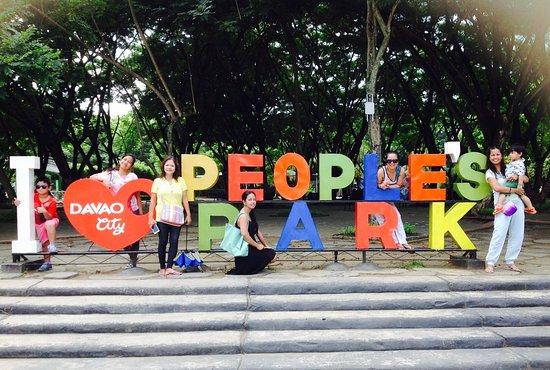Davao City, Filipinler: With the fambam!