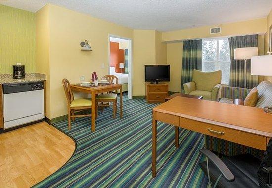 Spokane Valley, واشنطن: One-Bedroom Suite