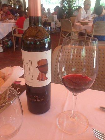 El vino que pedimos