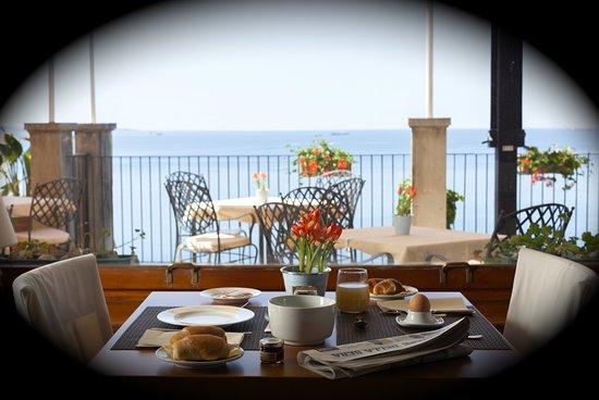 Ristorante Le Terrazze: vista dalla sala colazioni