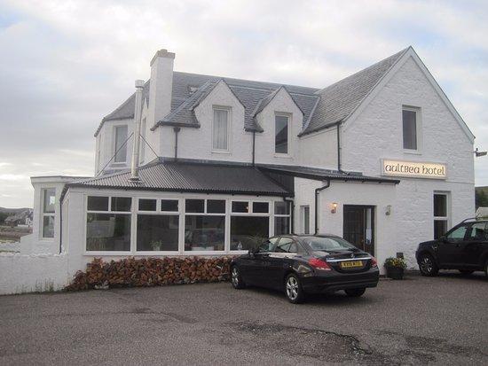 Aultbea, UK: Het hotel restaurant