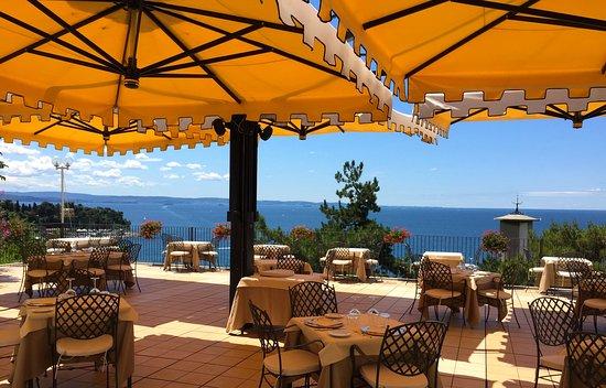 terrazza ristorante - Picture of Hotel Riviera & Maximilian\'s ...