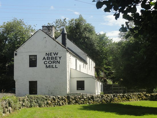 New Abbey, UK: The mill