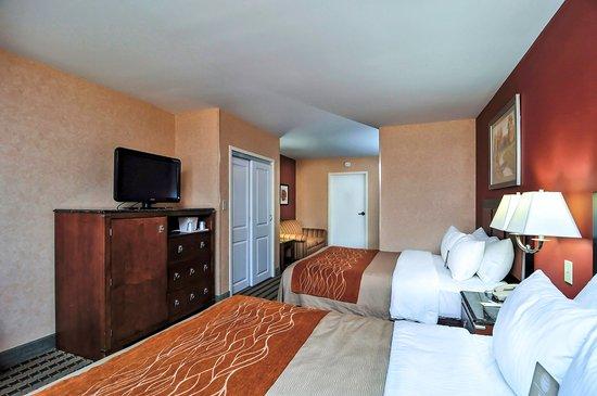 Comfort Inn Troutville : Double Suite
