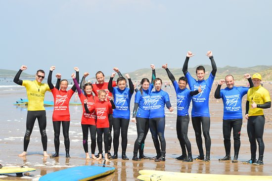 Llangennith, UK: End of a great session