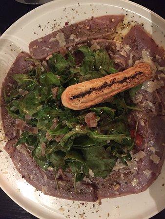 Waregem, Belgium: Tagliata met tonijn