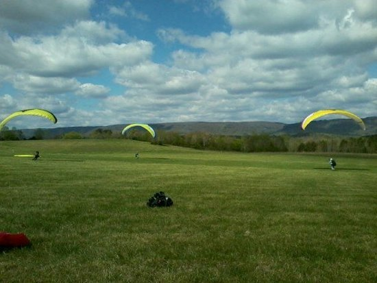 Flying Camp : Kiting in the LZ
