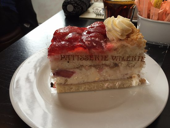 Patisserie Valerie Strawberry Gateau