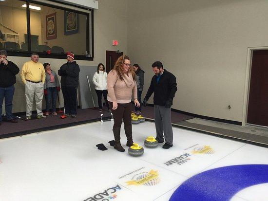 On Ice Instruction Picture Of Charlotte Curling Association Center