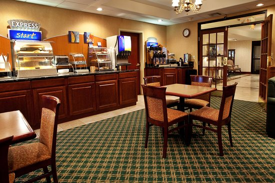 Holiday Inn Express Breaux Bridge (Lafayette Area): Breakfast Bar
