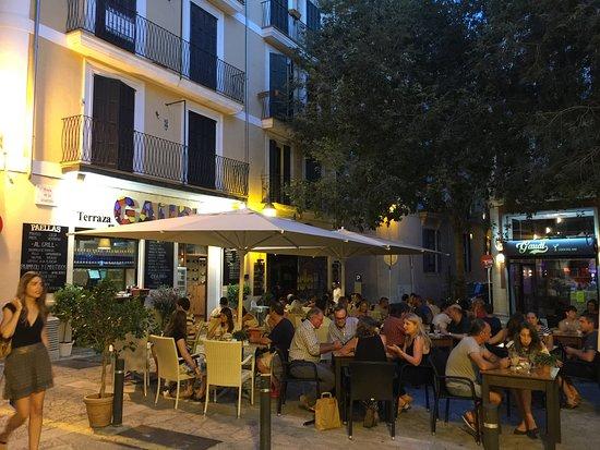 Gaudi Terraza Cafe Palma De Mallorca Menu Prices