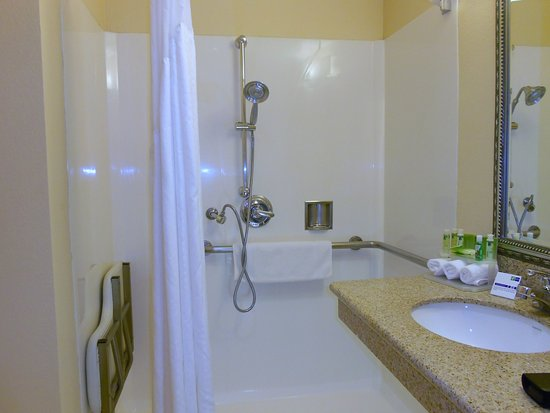 Holiday Inn Express & Suites Fremont Milpitas Central: ADA Accessible Bathroom