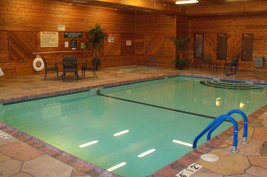 Relax and Swim at the Holiday Inn Express Lexington Nebraska